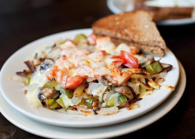 veganbreakfast:  hashbrown supreme by zeenes on Flickr.