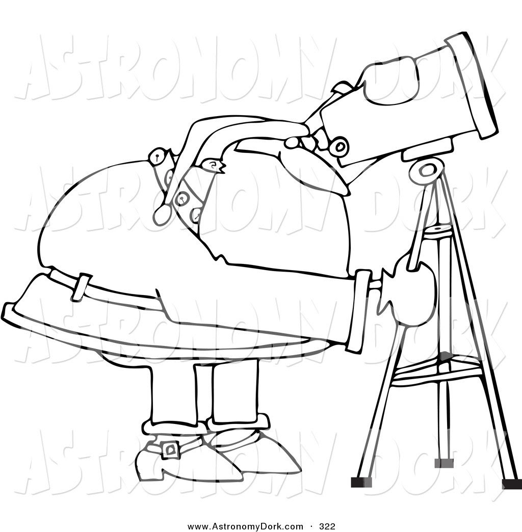 Download Telescope Coloring Page at GetColorings.com | Free printable colorings pages to print and color