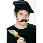 Mustache Wired Artiste