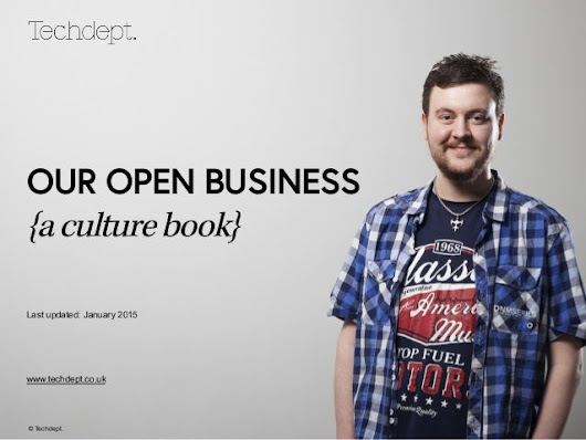 Our Open Business: The Techdept Culture Book
