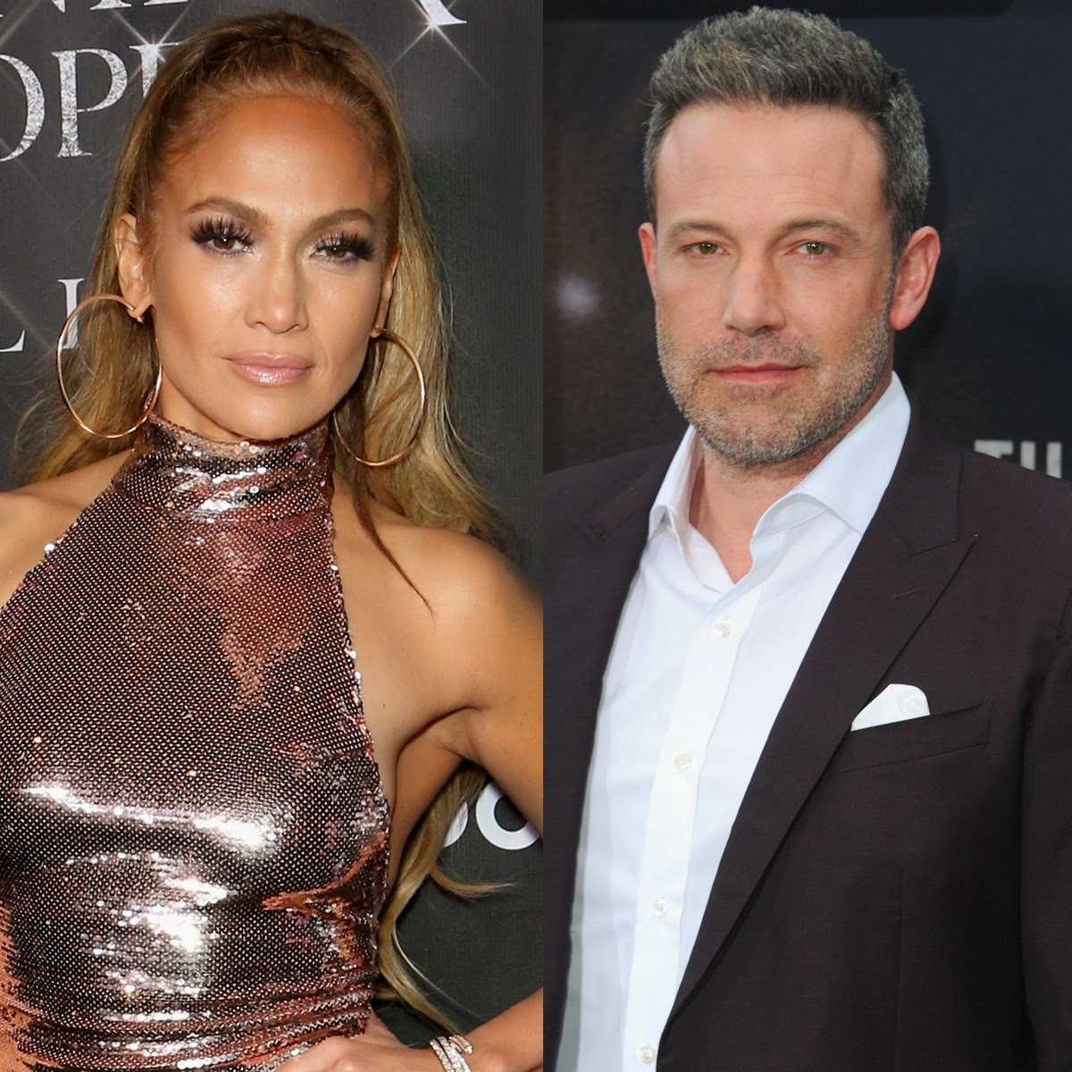 Jennifer Lopez Steps Out in What Looks Like Ben Affleck's Shirt