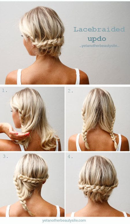 Love this braid hair hacks for those days your hair is dirty enough to holds in all those stray hairs