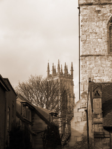 Minster View Sepia