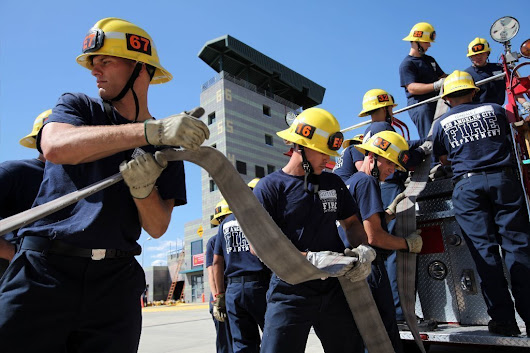 Only female in LAFD's class of firefighter recruits resigns