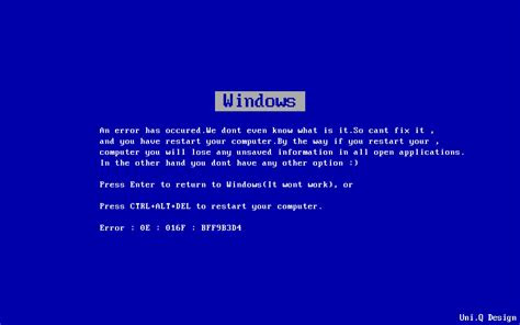 error microsoft microsoft windows blue screen  death