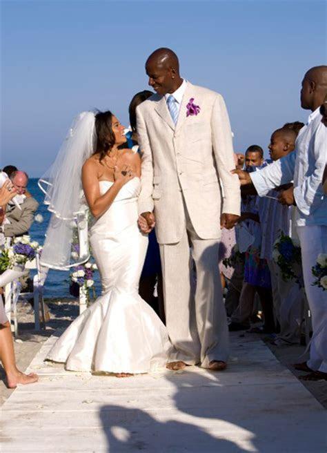 Ray Allen Gets Married in Martha?s Vineyard   Um, Barefoot?