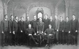 Jovens membros da ordem