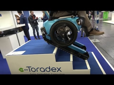 2017 - SCEWO stairclimbing wheelchair from ETH Zurich using Toradex
