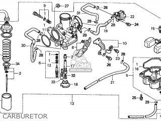 Honda Trx250 Fourtrax Recon 1997 U.s.a (california Only ...