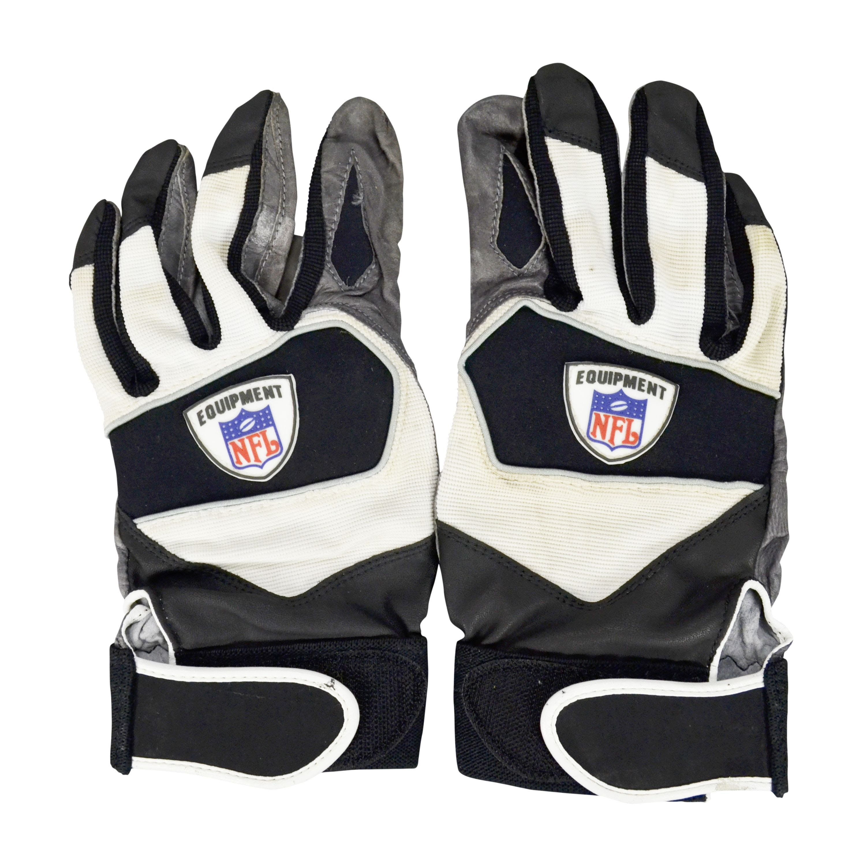 Lot Detail  Brian Urlacher NFL GameWorn Gloves MEARS LOA