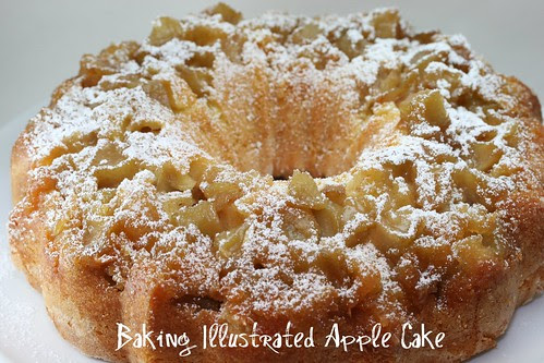 Baking Illustrated Apple Cake