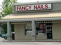 Photo: Fancy Nails store