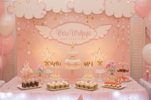 Angelic Pink Baby Shower - Baby Shower Ideas - Themes - Games