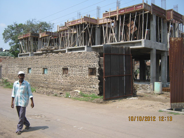 Reelicon Revanta 1 BHK & 2 BHK Flats at Taware Bungalow Canal Road Amrai Baramati-413102 - Construction is in full swing!