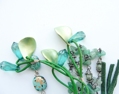 Moss Green Keychain / Bag Ring - GiftsandStars