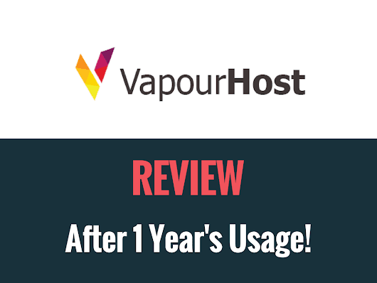 VapourHost Review – After 1 Year's Usage - TheTechPie