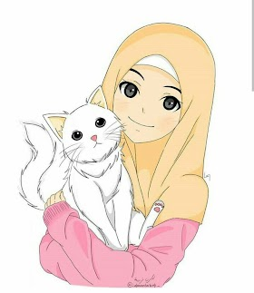 Kucing Lucu Hijab