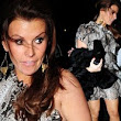 I'm dreaming of WAG Christmas: Coleen Rooney shuns maternity wear for mini dress as she joins Alex Gerrard at festive party