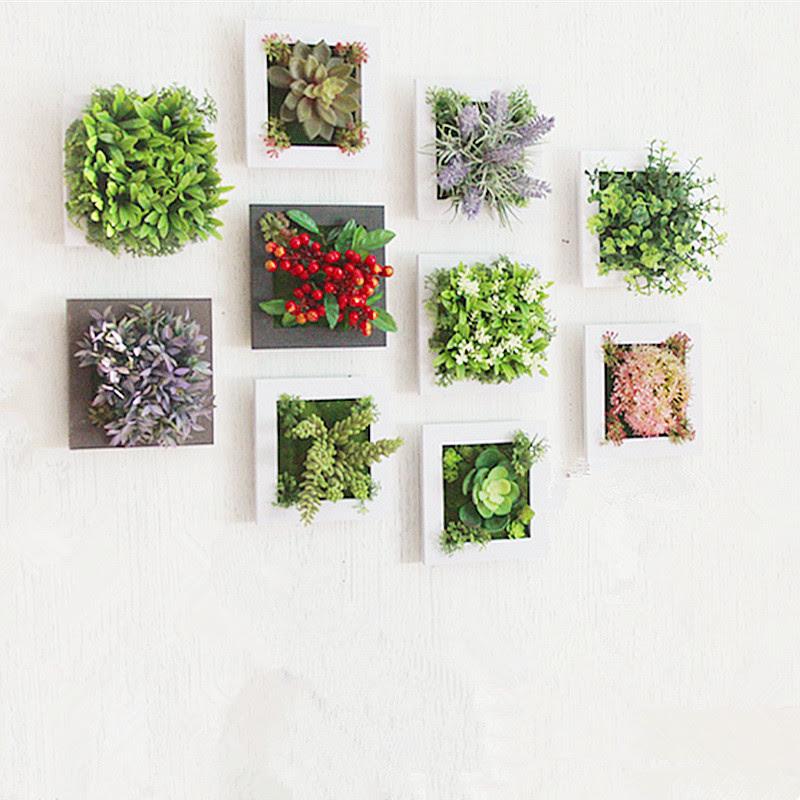 Aliexpress com Buy 3D Creative metope succulent plants