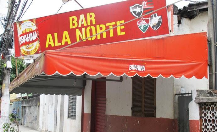 Engenhão bar fechado  (Foto: Thales Soares)