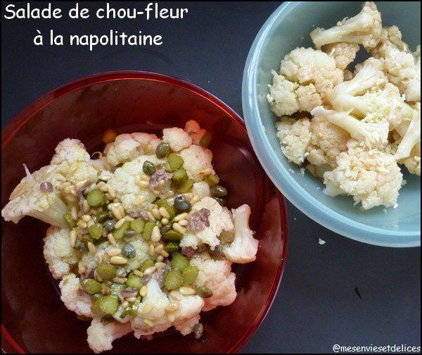 Salade de chou-fleur à la napolitaine