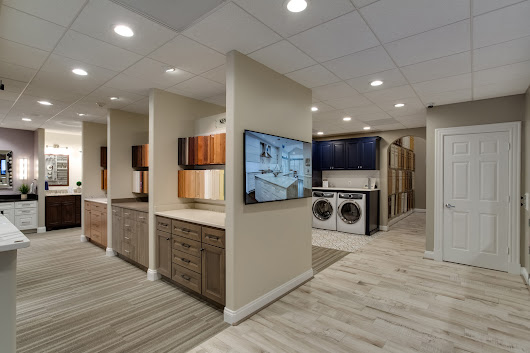 Foster Remodeling Solutions, Inc. has a beautiful remodeling showroom.
