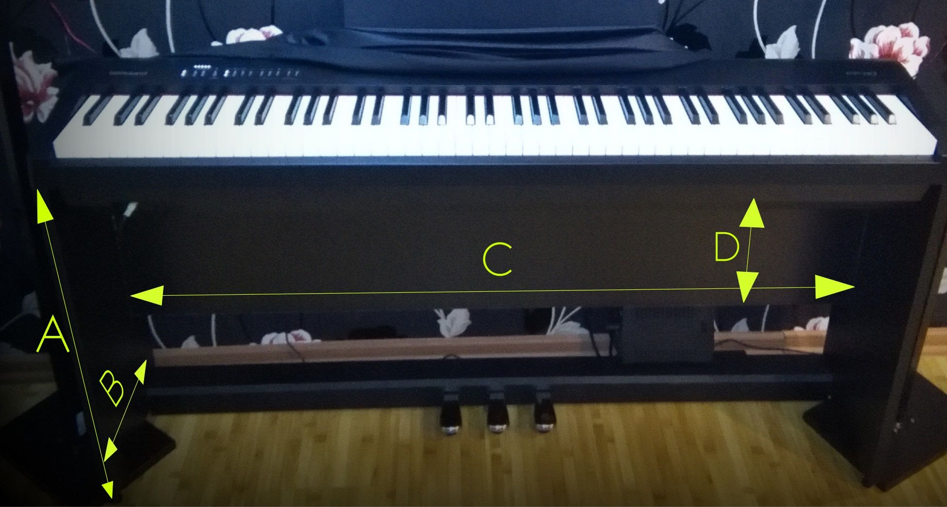 Roland Fp30 10 Laminate Wood Stand D I Y Piano World Piano Digital Piano Forums