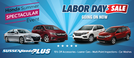 Current Honda New Vehicle Lease Specials | Sussex Honda