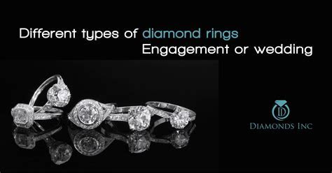 In what categories a diamond ring can be divided