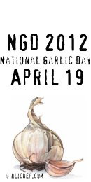 National Garlic Day 2012 Button