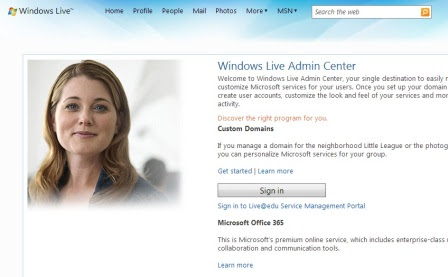 windows live login