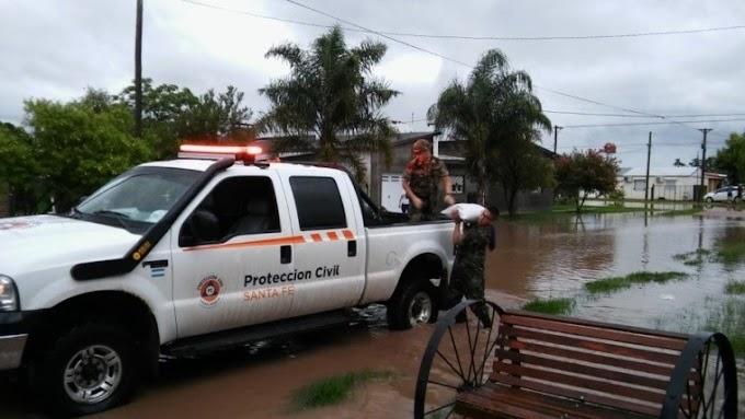 Emergencia hídrica: 459 evacuados, la mayoría en Villa Minetti y Tostado