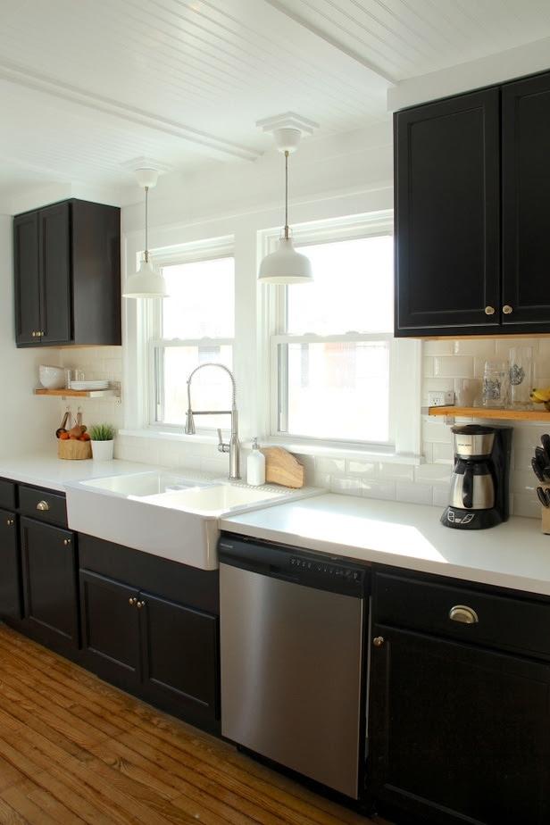 Benjamin Moore Black Kitchen Cabinet Colors  Petite Modern Life