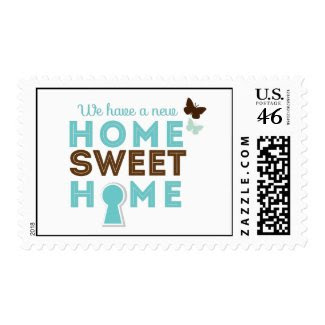 Home Sweet Home {new home} Postage