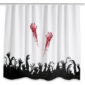 Amazon.com: Zombie Shower Curtain: Everything Else