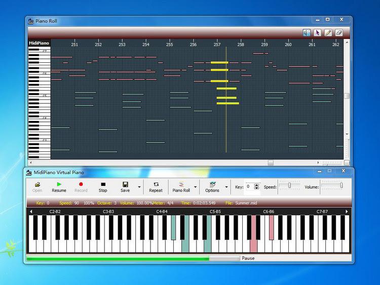 Free virtual piano download.