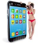 Sol Coastal 5.5-foot Jumbo Ipool Smartphone Swimming Pool Float Inflatable Water Raft