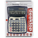 12-Digit Desktop Project Calculator -PACK 5