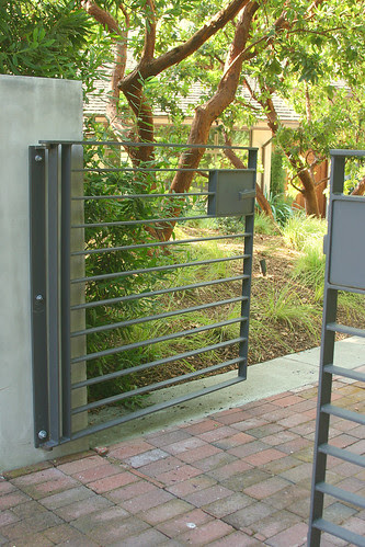 steel front gate