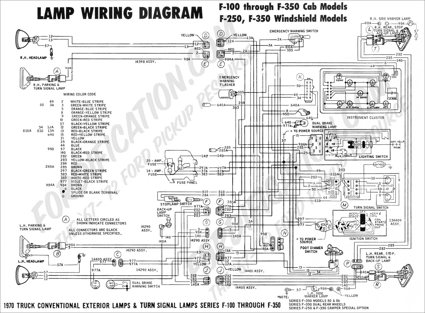 1990 Ford F250 Wiring Diagram