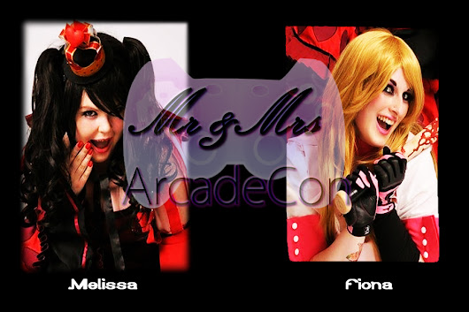 Vote for Melissa & Fiona as Mrs and Mrs ArcadeCon