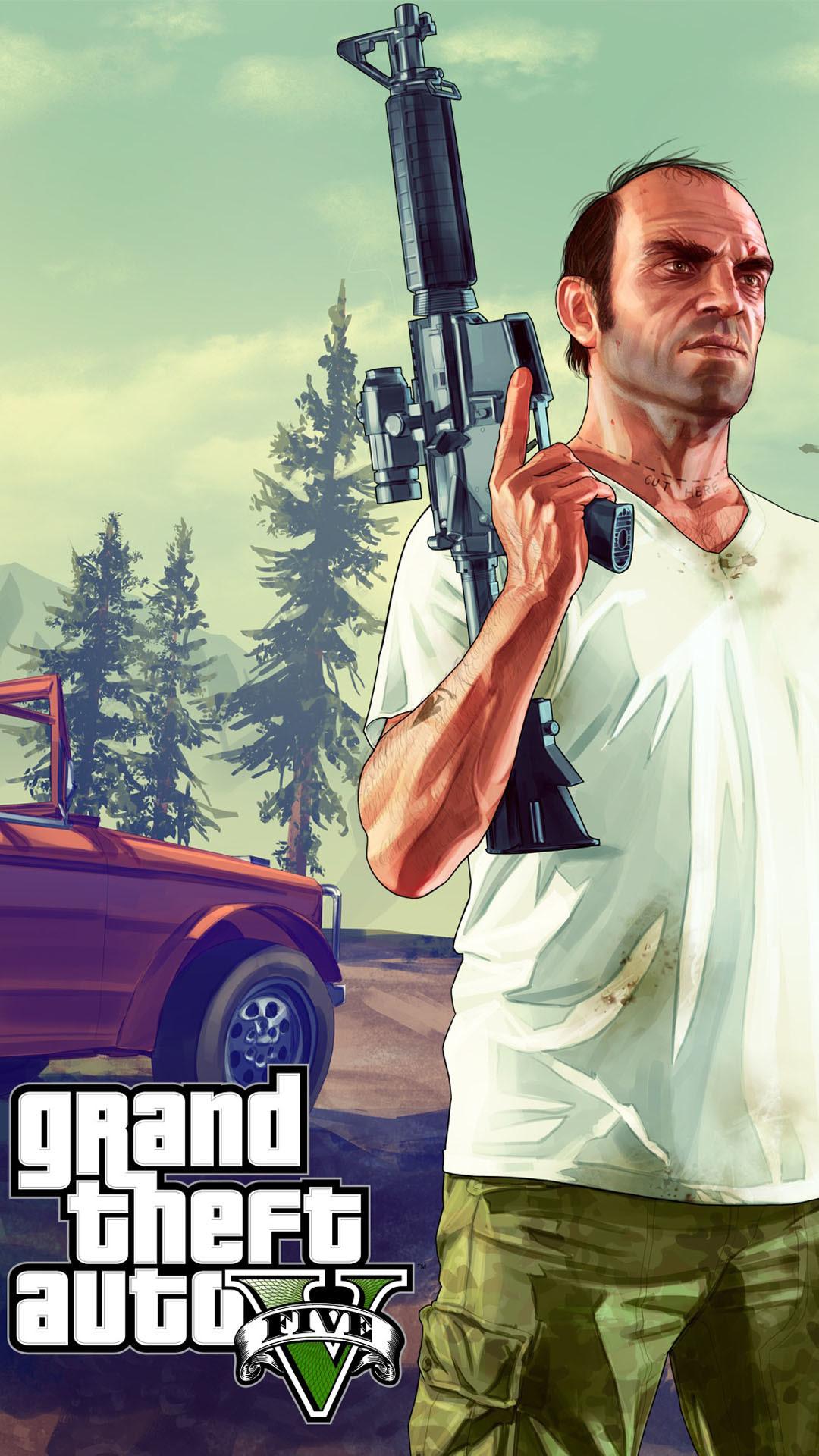 GTA 5 iPhone Wallpaper (75+ images)