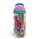 Trolls Zak Designs 19oz Stainless Steel Water Bottle Pink/Blue