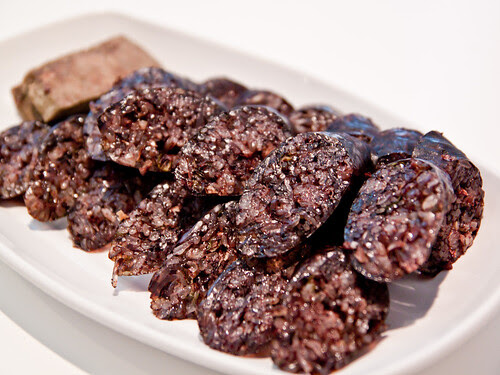 Soondae (blood sausage)