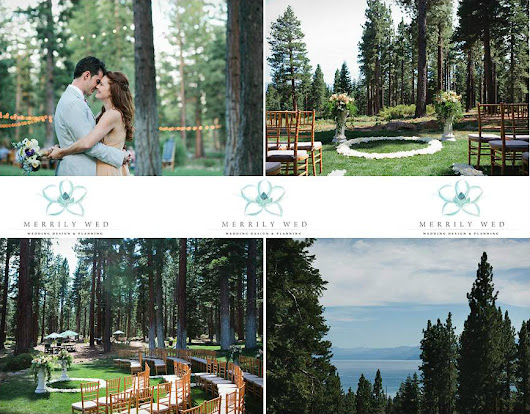 Whimsical Forest Tahoe Wedding | Merrily Wed® Lake Tahoe Weddings