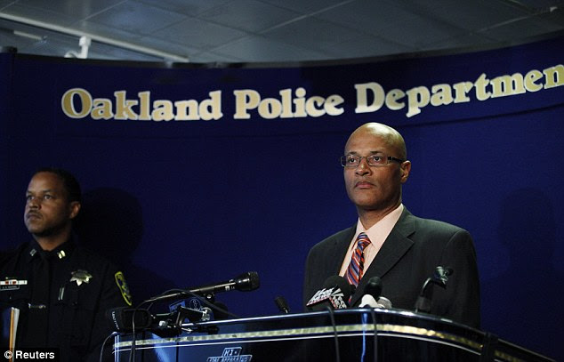 Briefing: Oakland Police Chief Howard Jordan talks to the media after seven people were killed and three wounded at Oikos University in Oakland, California