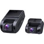 AUKEY Dual Dash Cam HD 1080P Front and Rear Camera Car Camera Supercapacitor 6-Lane 170 Degrees Wide-Angle Lens Dashcam,Night Vision, G-Sensor