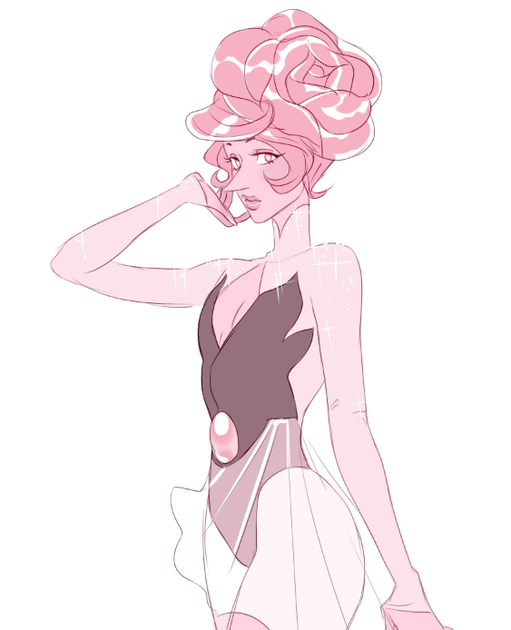 someone asked for pink diamond and a pink pearl, so I dug up my old pink pearl design from sometime last year