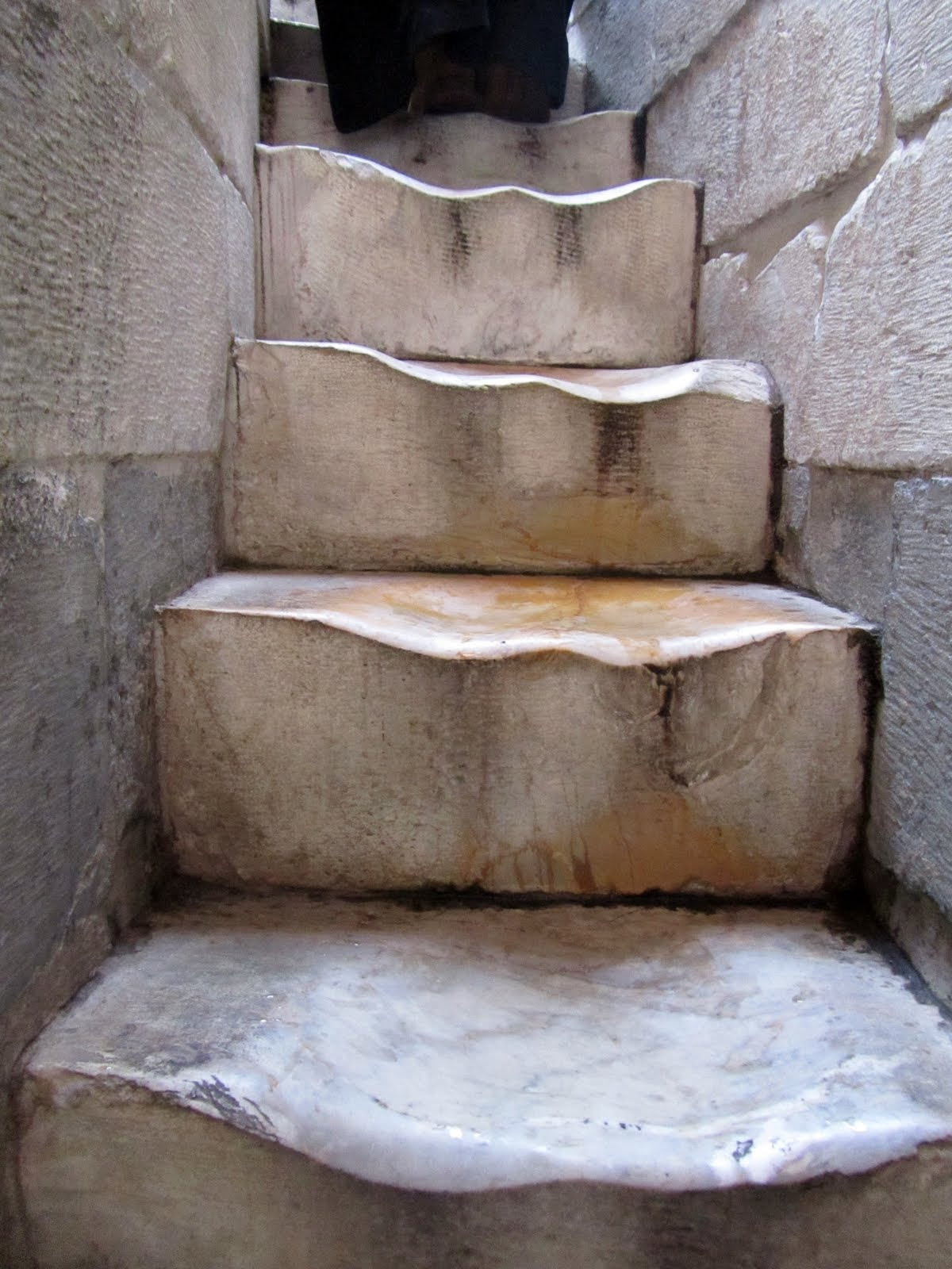 Tower of Pisa stairs