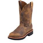 Justin Men's Rugged Gaucho Wellington Work Boots